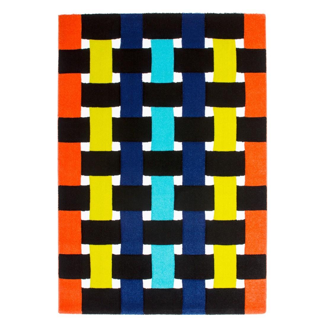 Teppich Tetris – Orange/Grün – 80 x 150 cm, Obsession günstig