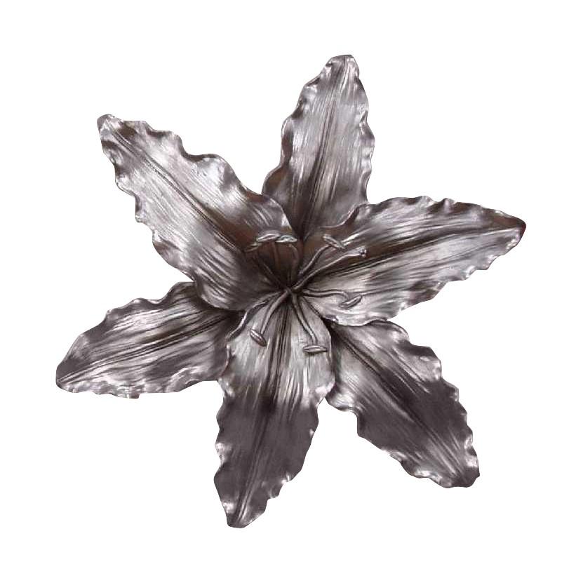 Lilie Wandrelief – silber, Home Design kaufen