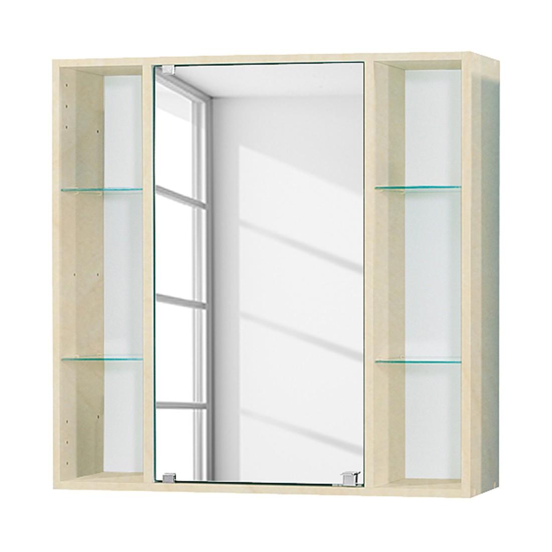 spiegelschrank lilly birke dekor fackelmann g nstig online kaufen. Black Bedroom Furniture Sets. Home Design Ideas