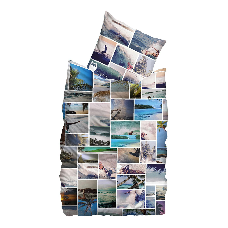 Linon-Bettwäsche Freedom - 155 x 220 cm + Kissen 80 x 80 cm, Suenos