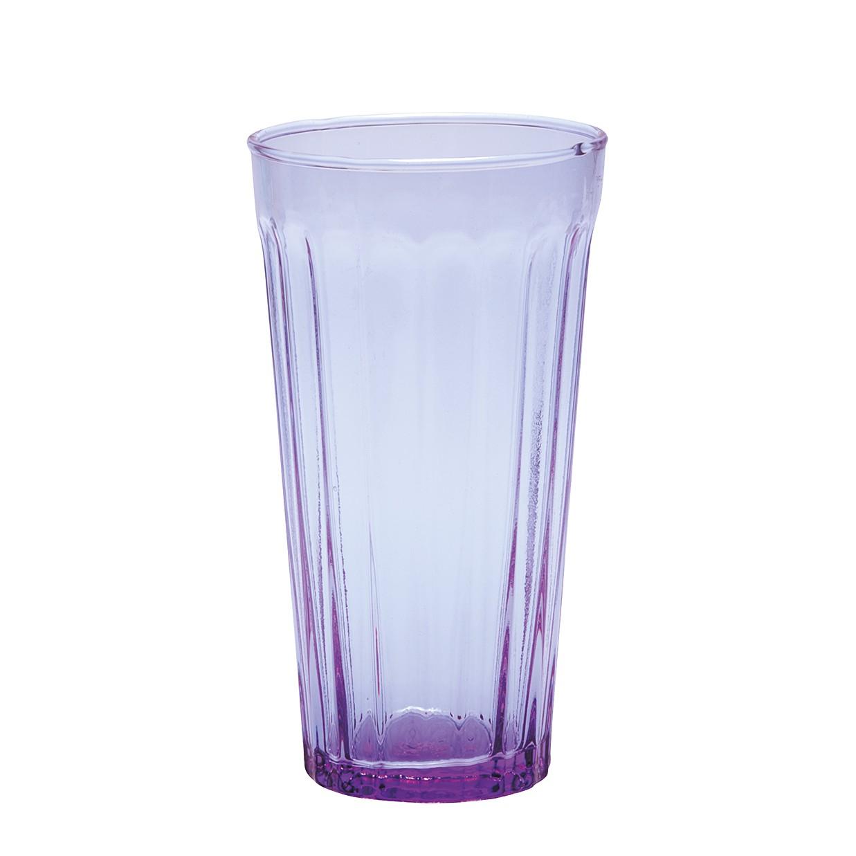 Longdrinkglas Lucca (6er-Set) – Glas – Violett, BITOSSI HOME günstig