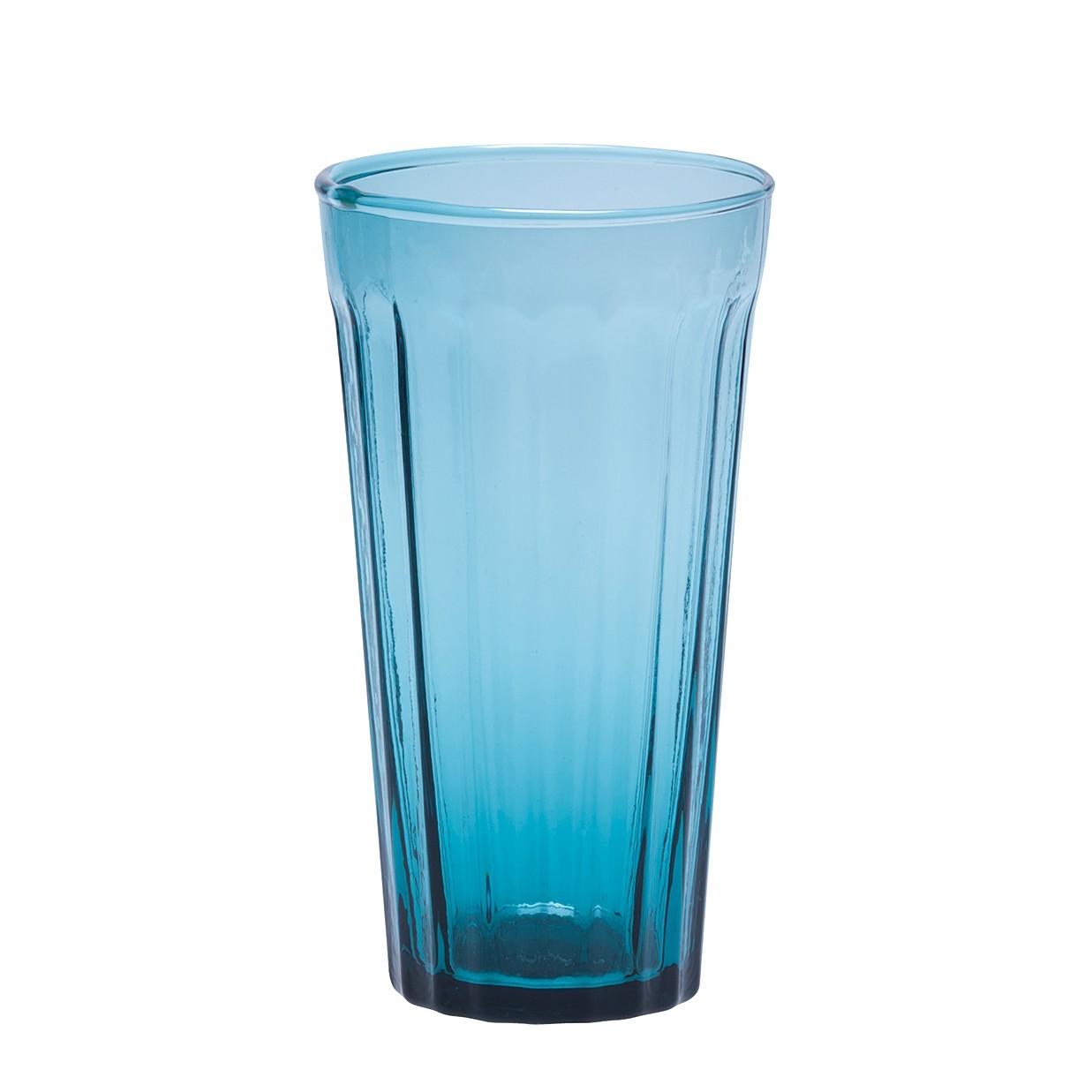 Longdrinkglas Lucca (6er-Set) – Glas – Tintenblau, BITOSSI HOME günstig