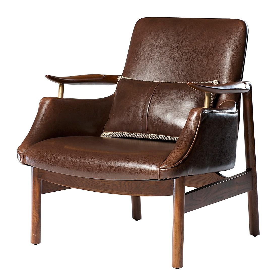Lounge sessel kunstleder braun  Loungesessel Tycho - Kunstleder - Braun, Dan-Form - Tipps vom ...