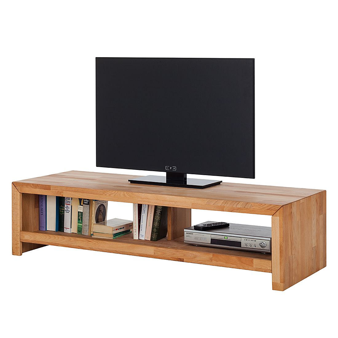ars natura lowboard kireawood ii kernbuche tv board. Black Bedroom Furniture Sets. Home Design Ideas