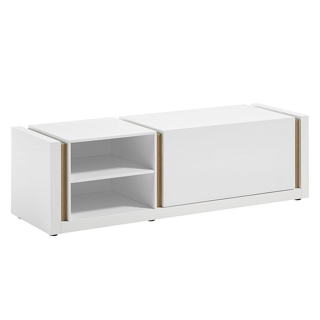 lowboard wei matt preis vergleich 2016. Black Bedroom Furniture Sets. Home Design Ideas