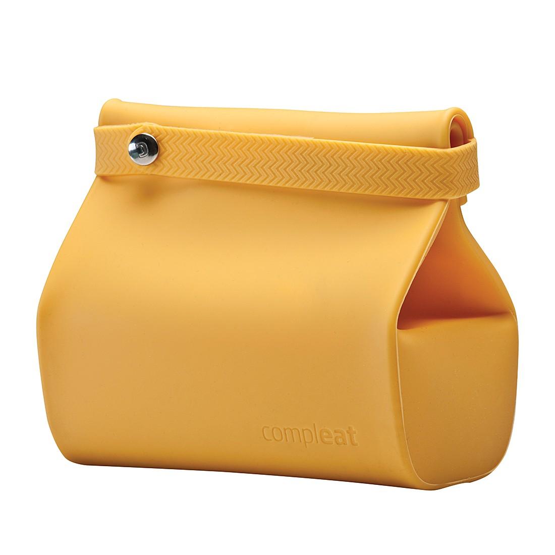 Lunchbox Foodbag – Silikon – Gelb, Unikia bestellen