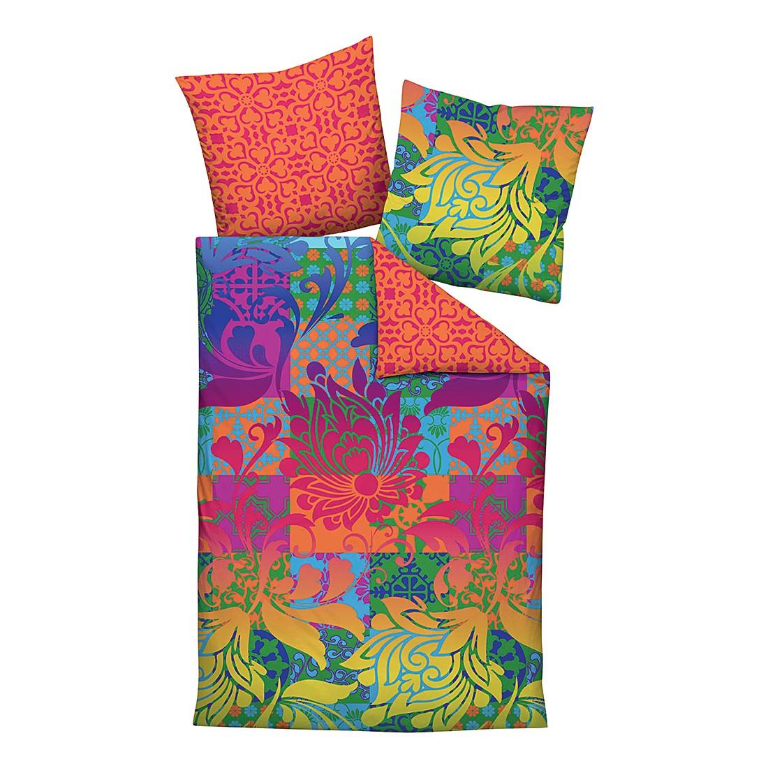 edelflanell bettw sche corinna pink 155 x 200 cm kissen 80 x 80 cm biberna online kaufen. Black Bedroom Furniture Sets. Home Design Ideas