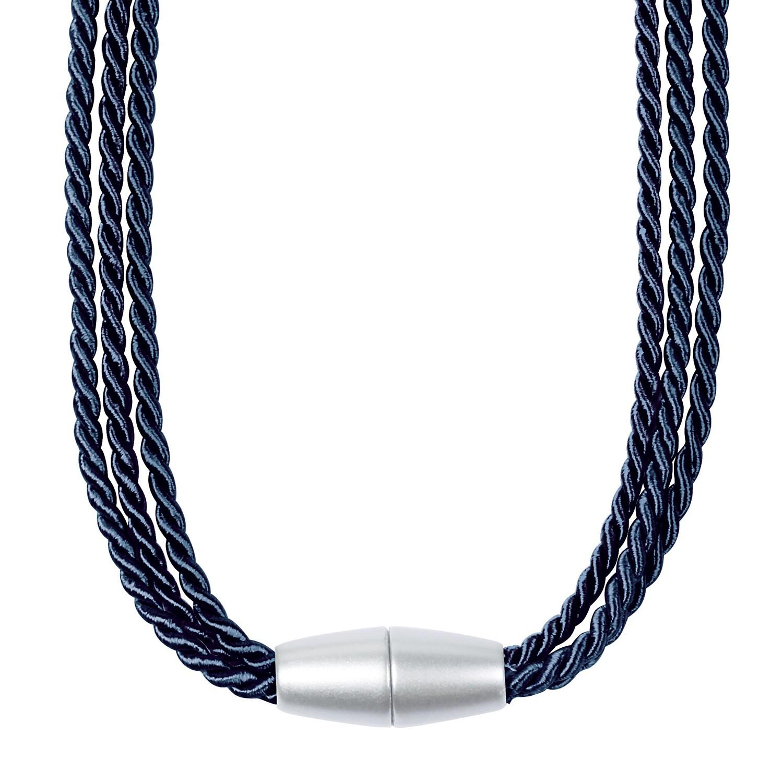 Magnethalter Caty - Stahlblau, Home24 Deko