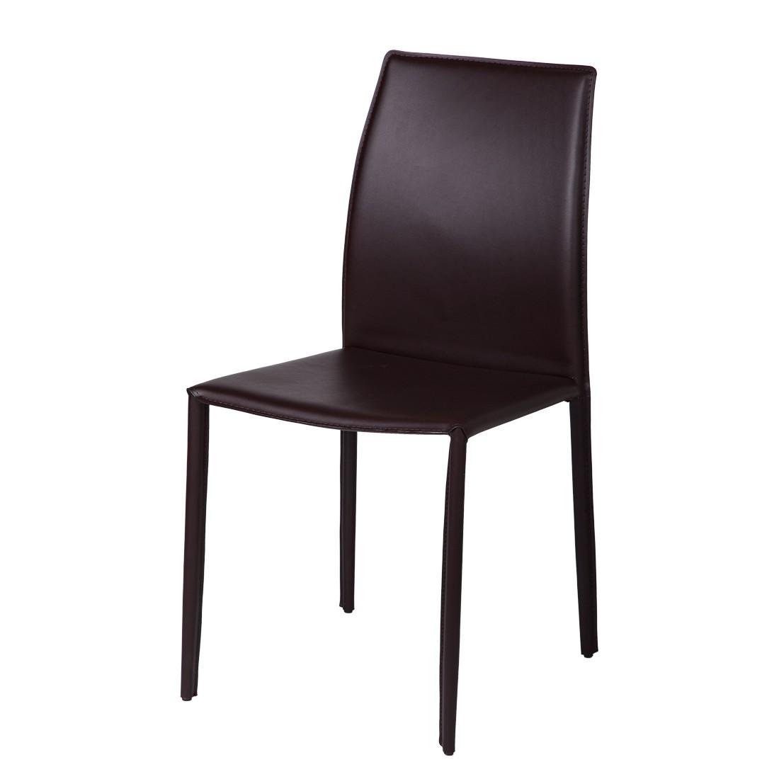 st hle leder braun g nstig kaufen. Black Bedroom Furniture Sets. Home Design Ideas