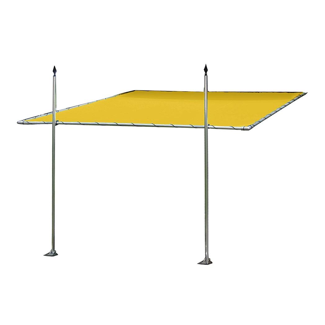 Markise Speer – Aluminium/Markisenstoff – Gelb, Leco günstig bestellen