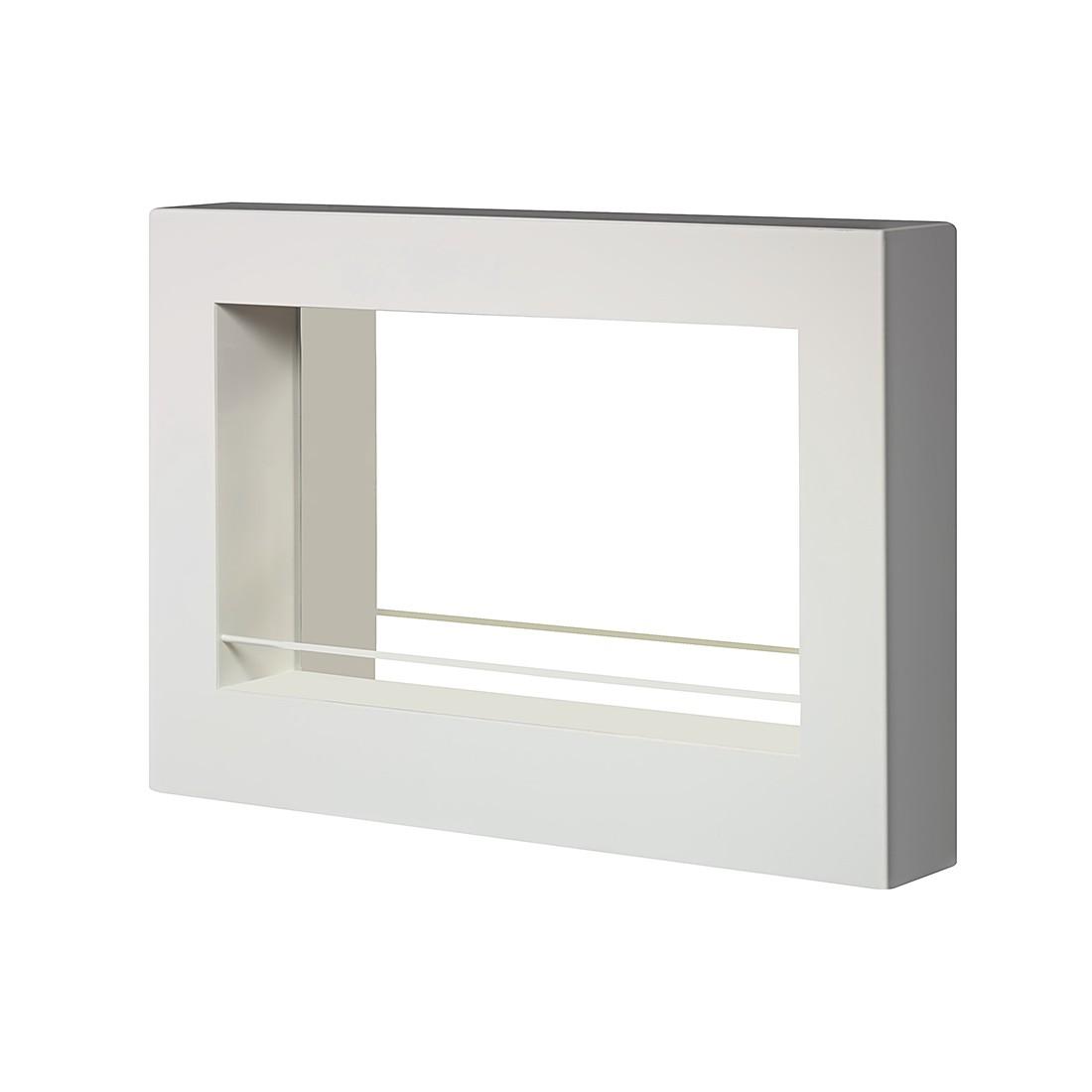 wandbar massimo metall wei lackiert magazin m bel. Black Bedroom Furniture Sets. Home Design Ideas
