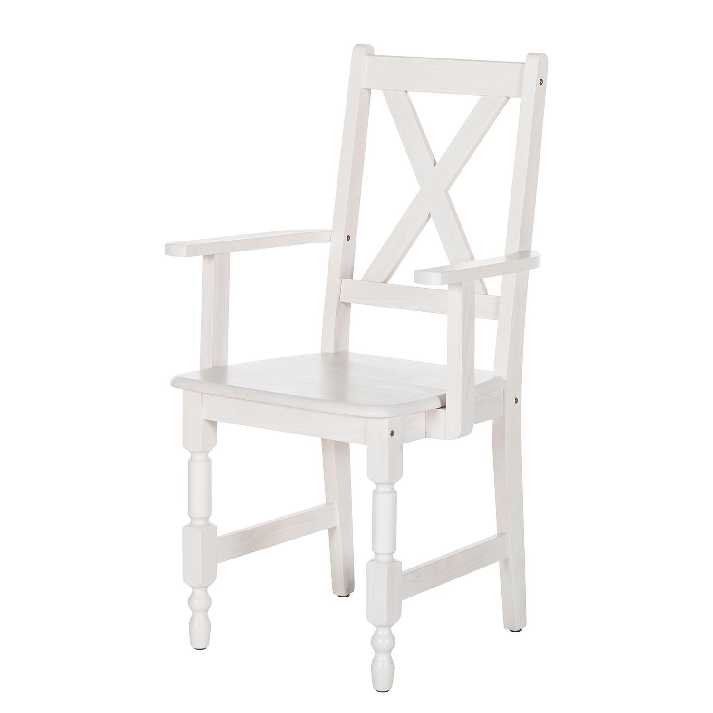 Esszimmerstuhl mit armlehne g nstig kaufen for Esszimmerstuhl weiss mit armlehne