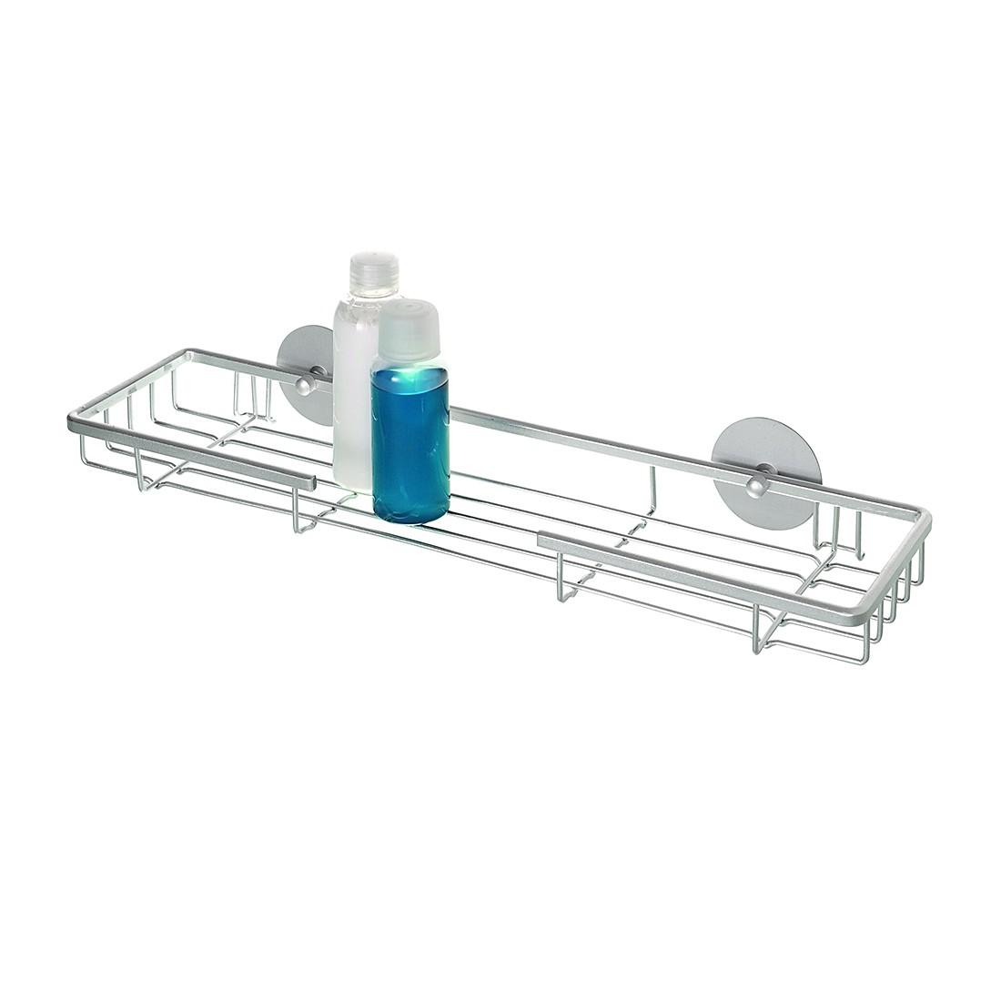 Maxiablage – Turbo-Loc – Aluminium, WENKO günstig online kaufen