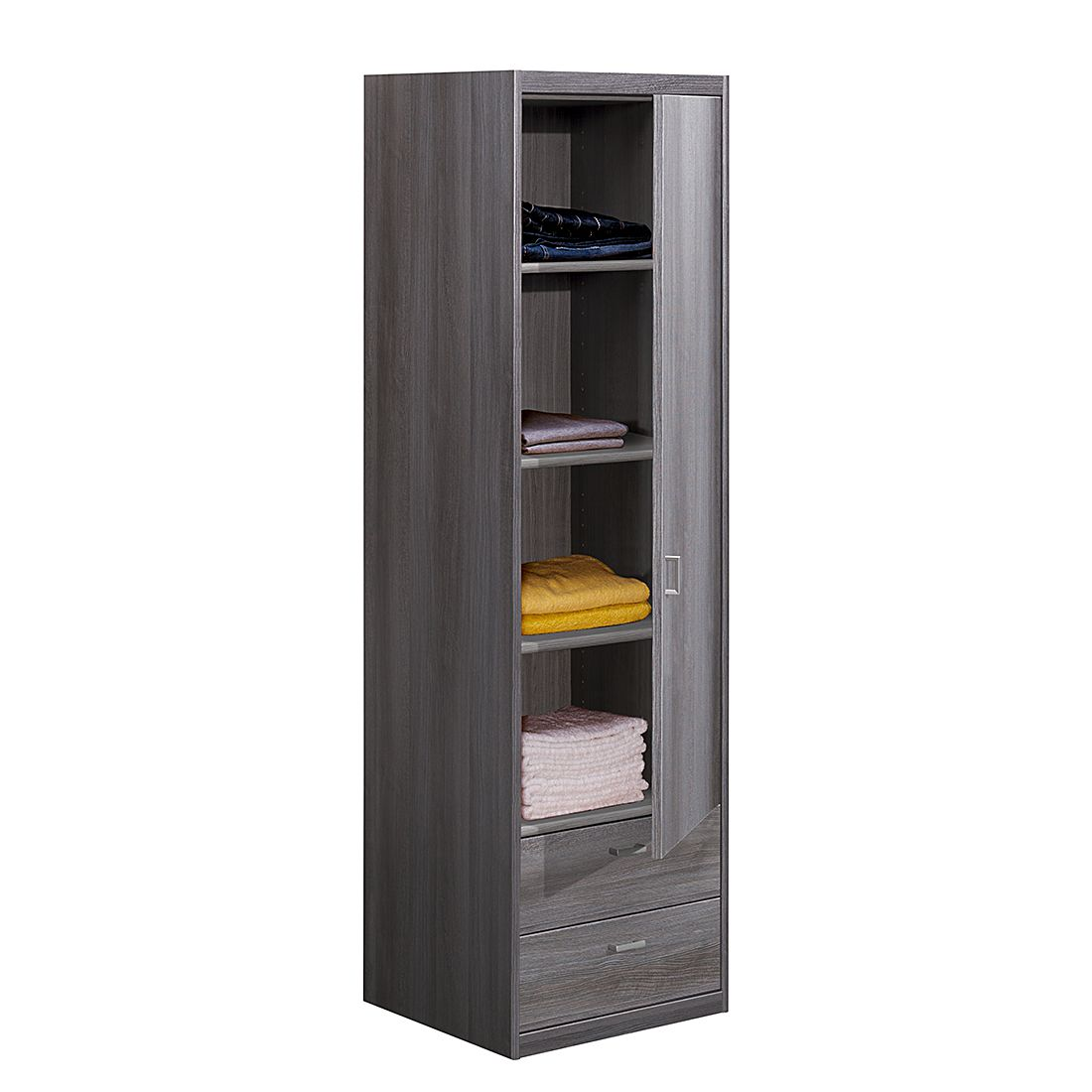 mehrzweckschrank soft plus iii silbereiche dekor. Black Bedroom Furniture Sets. Home Design Ideas