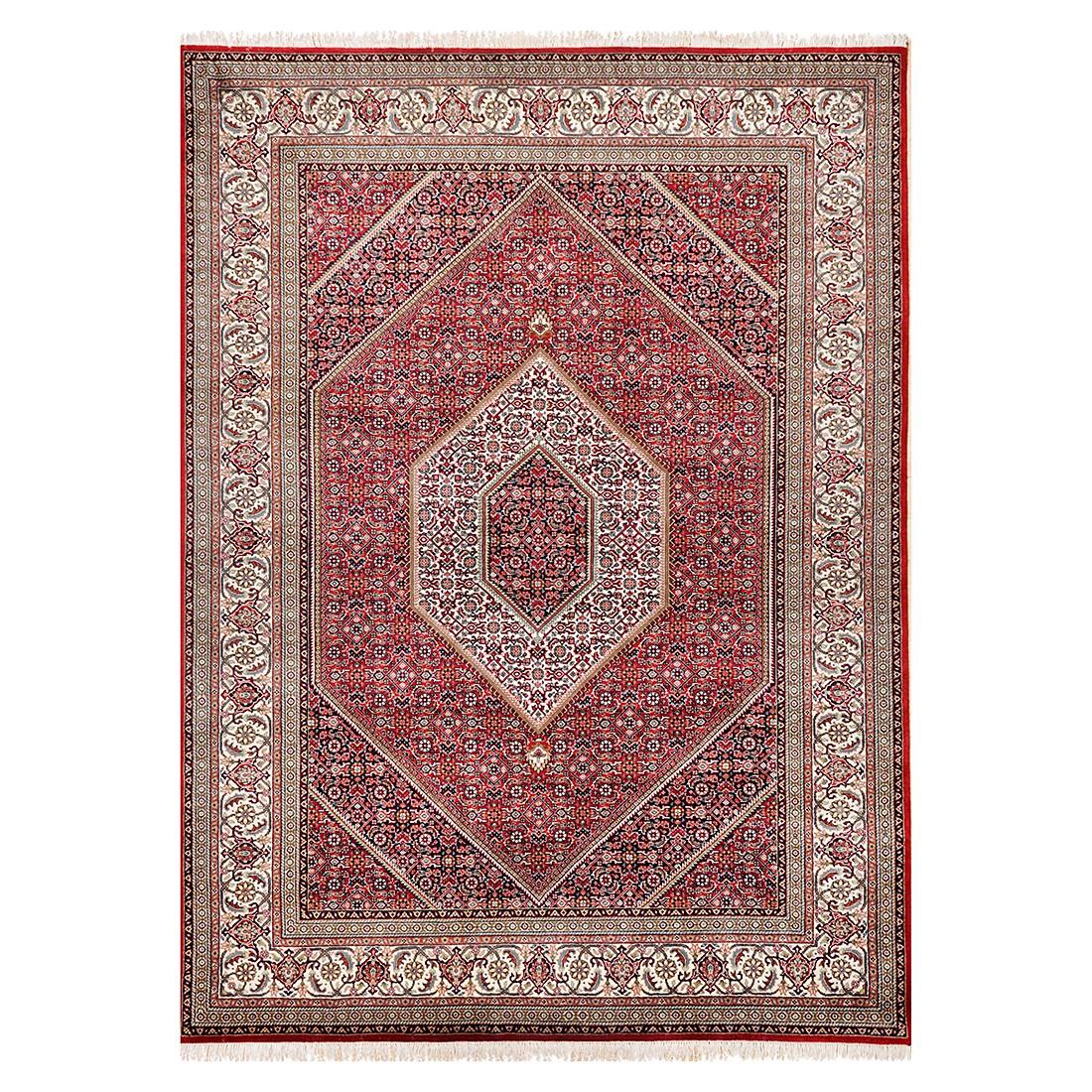 Meraj Silk touch Bidjar – Seide/Rot – 90 cm x 160 cm, THEKO die markenteppiche günstig
