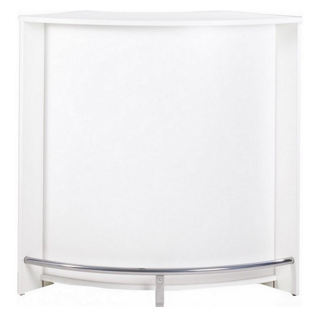 meuble bar comptoir de cuisine meuble d 39 accueil coloris blanc. Black Bedroom Furniture Sets. Home Design Ideas
