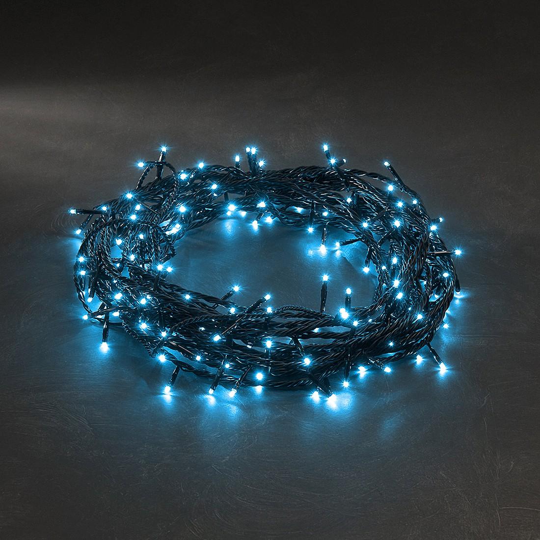 EEK A+, Micro LED Lichterkette - 40 hell blaue Dioden - Außen, Konstsmide