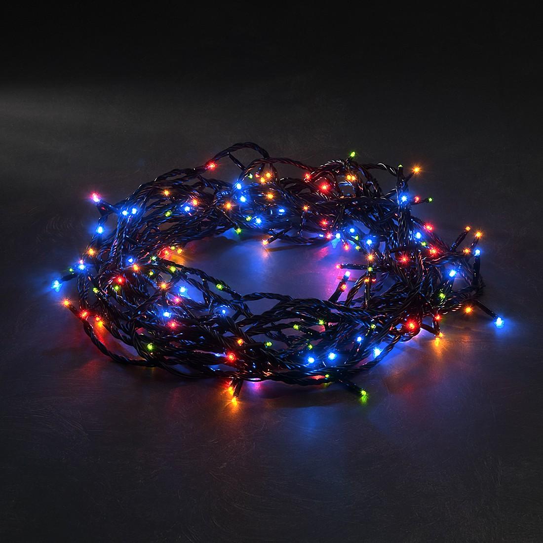 Micro LED Lichterkette ● 8 Funktionen + Memoryfunktion ● 180 bunte Dioden ● Außen- Konstsmide A+