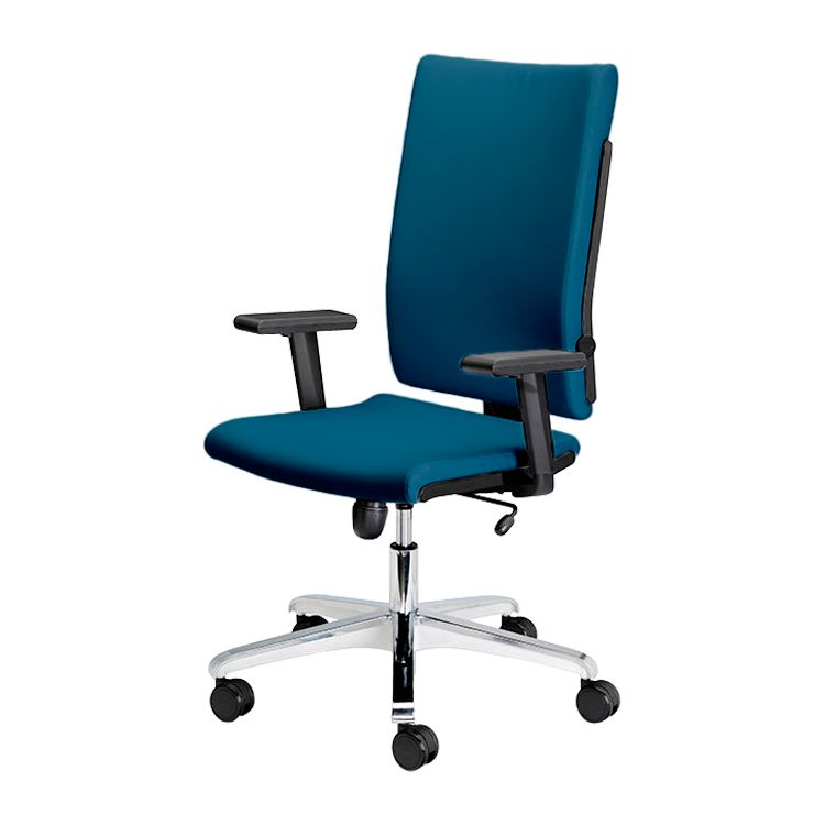 Bürodrehstuhl Milano – Webstoff – Blau, Nowy Styl günstig online kaufen
