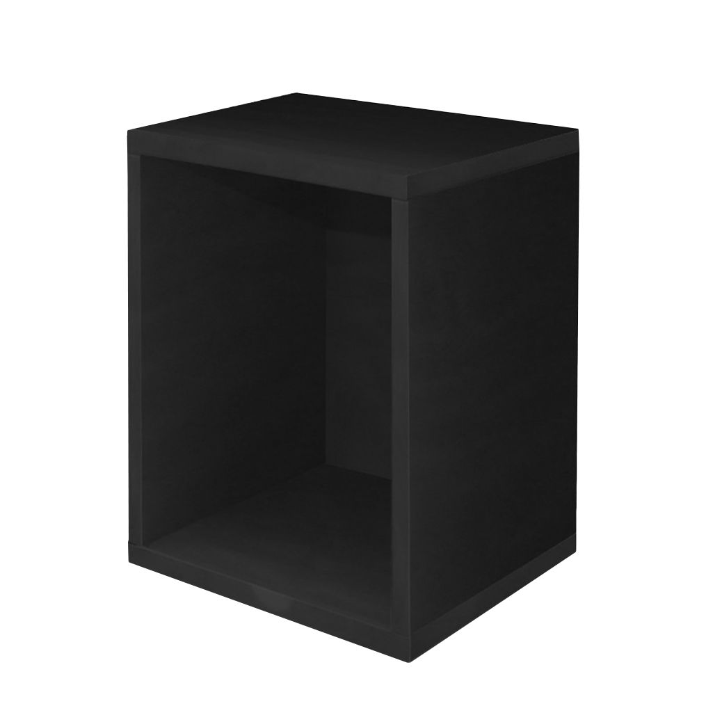 modul w rfelregal savoie schwarz drehbar 40x34x29 cm. Black Bedroom Furniture Sets. Home Design Ideas