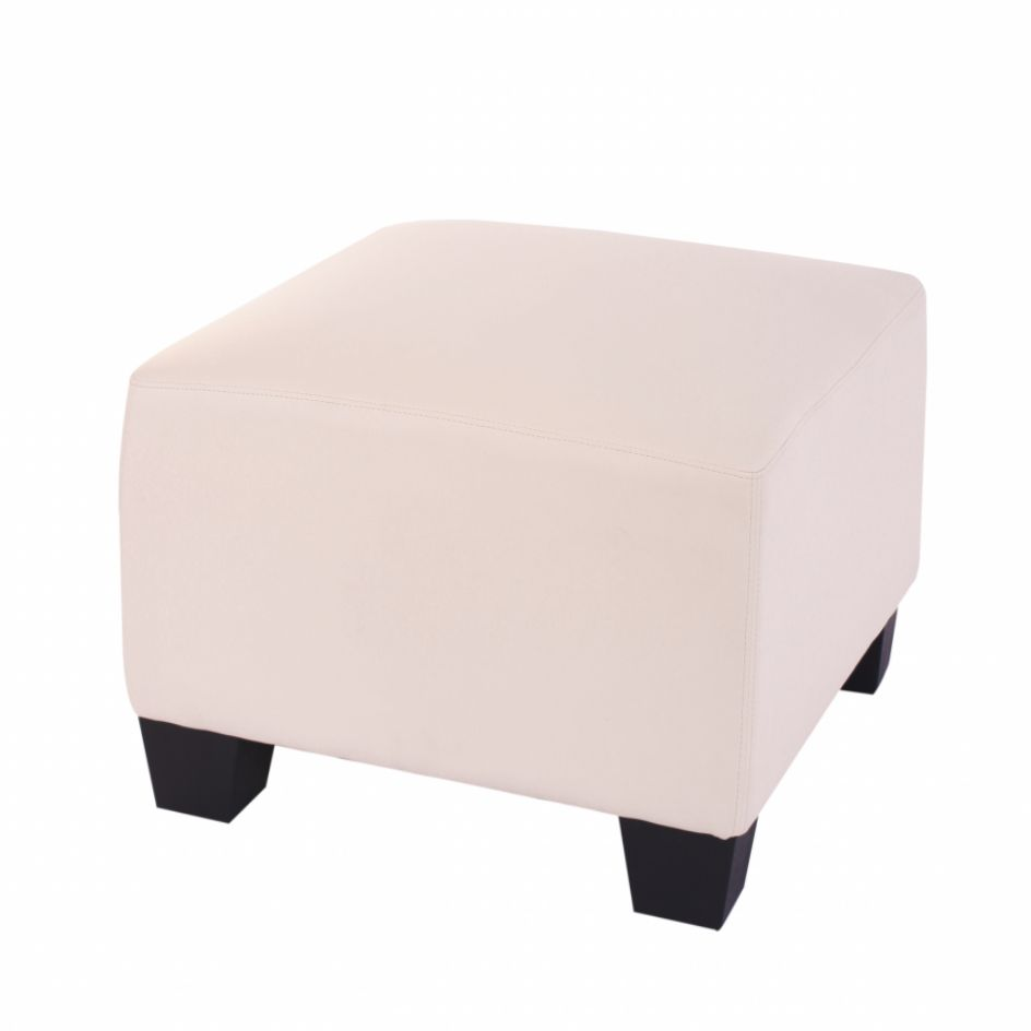 Modular Sofa-System Lyon – Ottomane, creme, Mendler kaufen