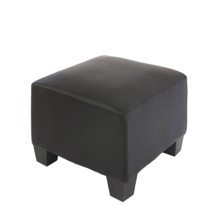 Modular Sofa-System Lyon – Ottomane, schwarz, Mendler bestellen