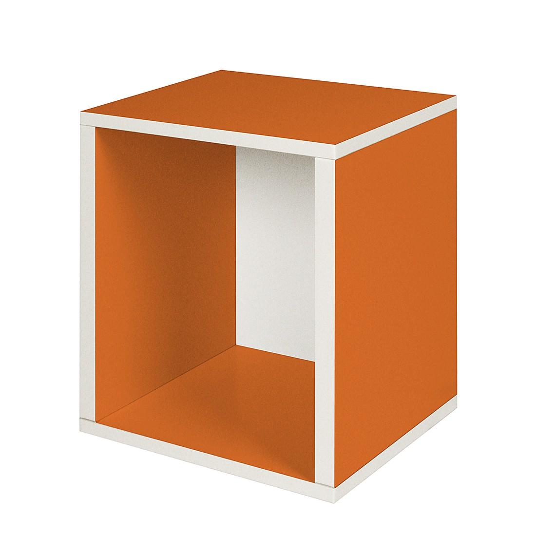 Modulares Schranksystem Cube Plus Orange 2er Set, waybasics günstig kaufen