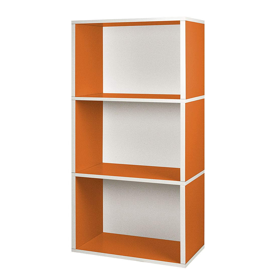 Modulares Schranksystem Rectangle Plus 3 Orange, waybasics günstig