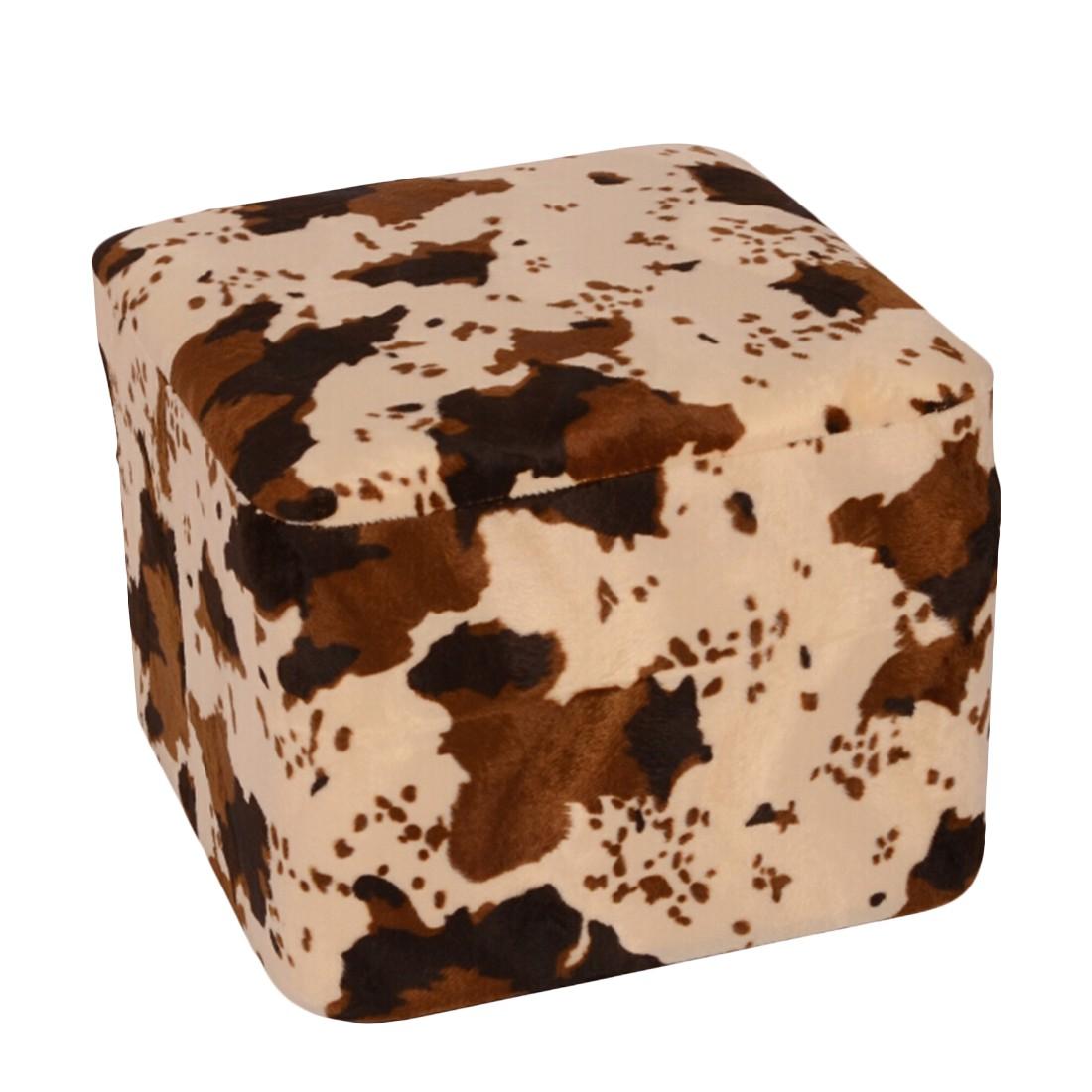 Möbelhocker Kuh Viereck – 50 x 50 cm, KC-Handel günstig kaufen