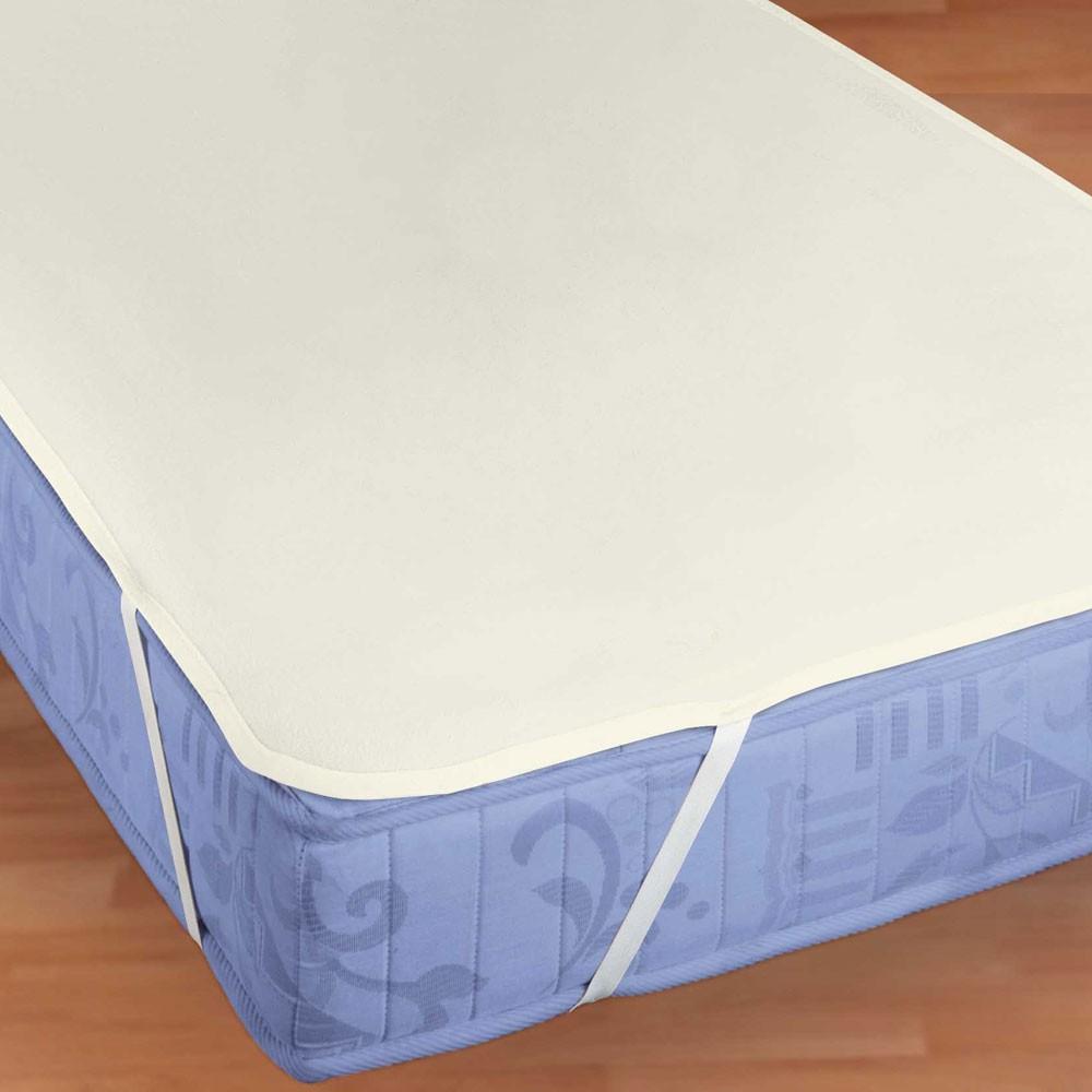 Molton Matratzenauflage kochfest – 100% Baumwolle Weiß – Ausführung 140×200 – 160×200 cm, Bettwaren-Shop kaufen