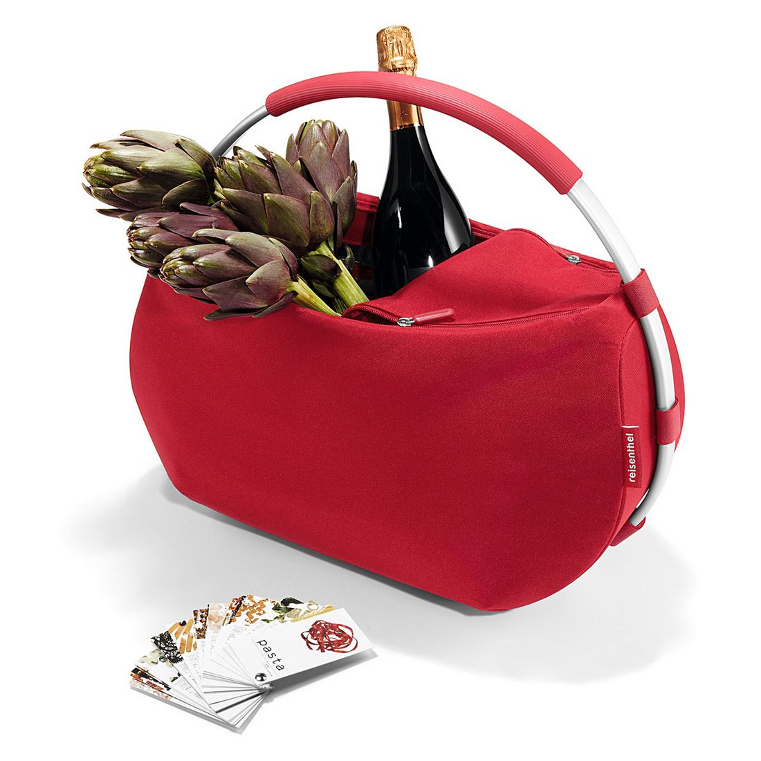 MOONBAG rot – reißfestes Polyestergewebe, Aluminium rot, Reisenthel Accessoires günstig bestellen