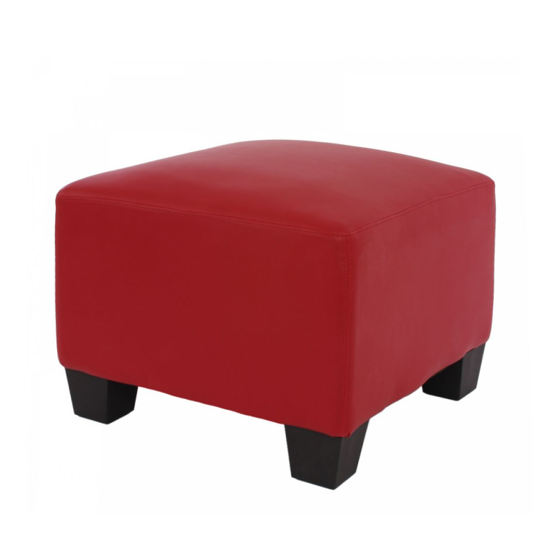 Modular Sofa-System Lyon – Ottomane, rot, Mendler kaufen