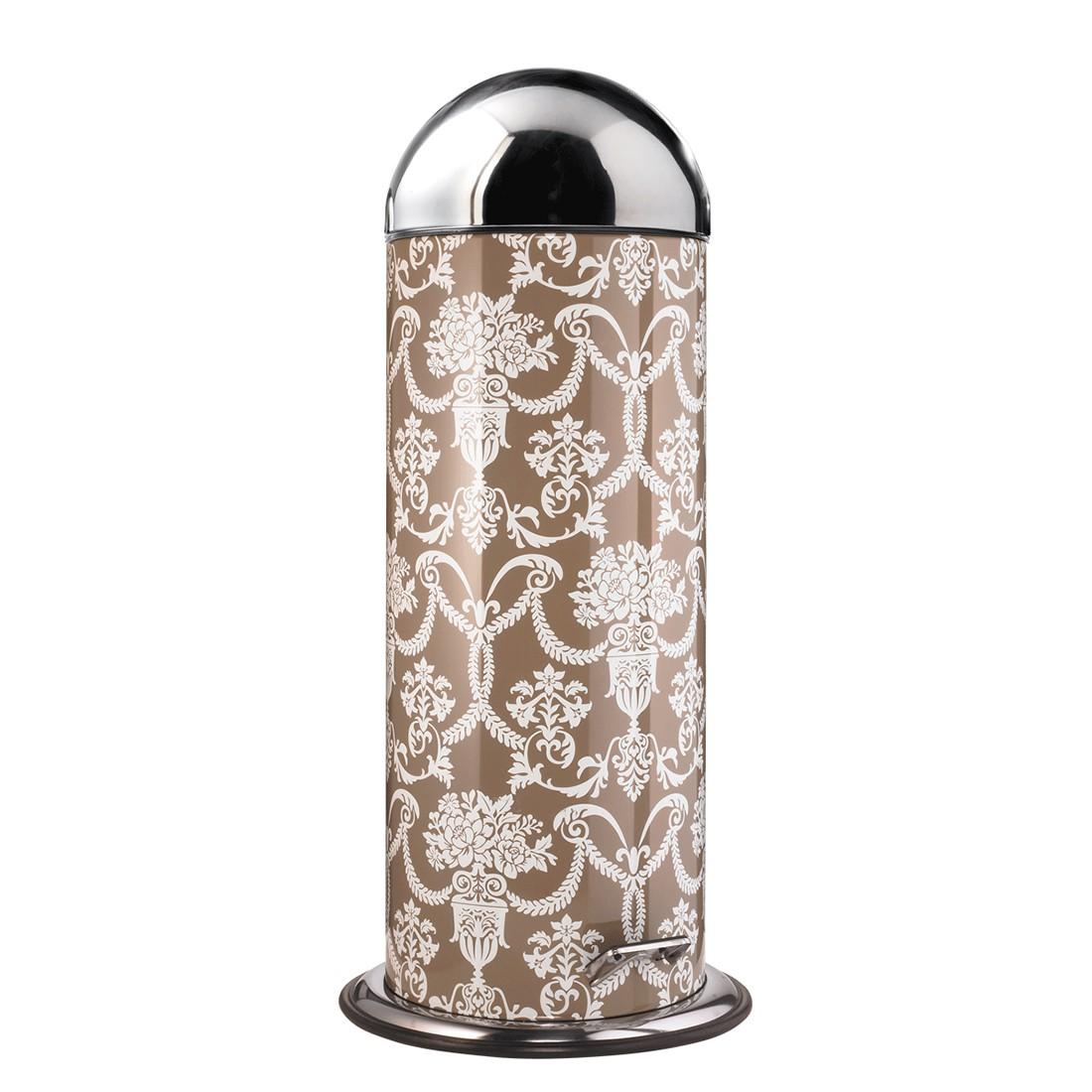 Mülleimer Ornament – Kunststoff, Edelstahl, Braun, PureDay jetzt bestellen