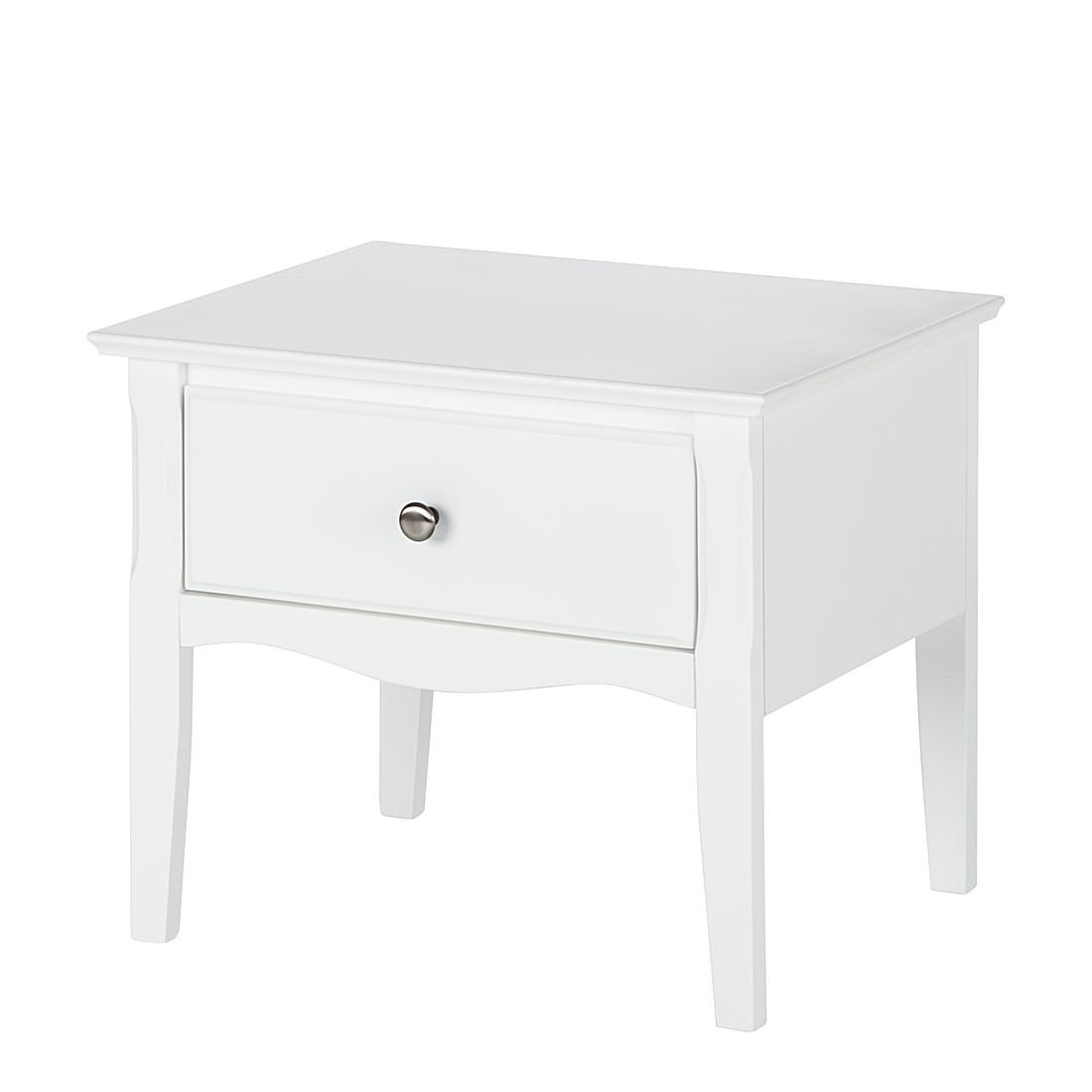 Nachtkommode Giselle - Weiß