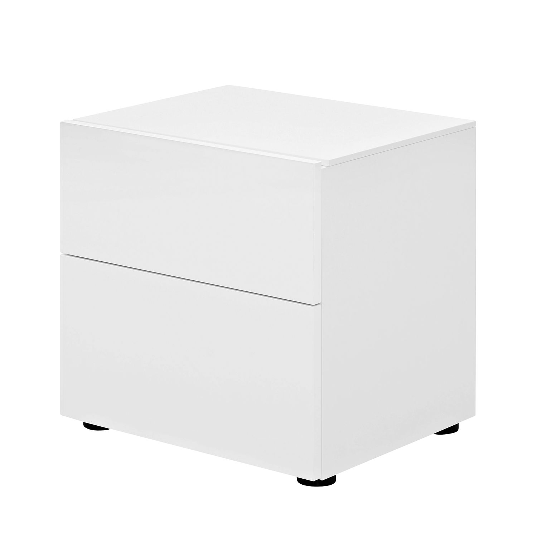Nachtkommode Pure I – Weiß – Matt Weiß, Arte M jetzt kaufen