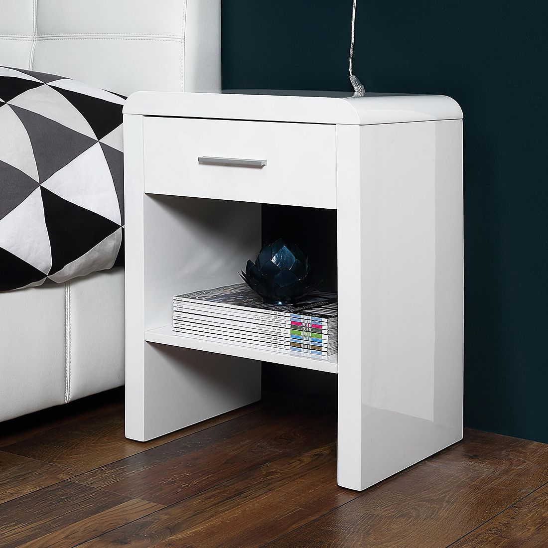 Nachtkonsole Easy – Weiß, roomscape – MAC000505 – Kauf Dir…