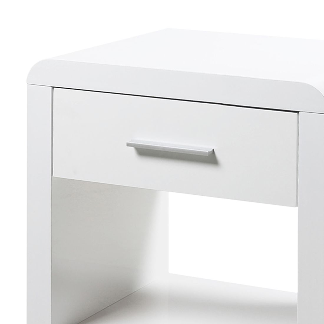 Nachtkonsole Easy – Weiß, roomscape – MAC000505 – Möbel8