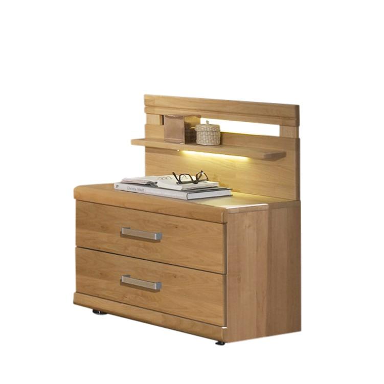 nachtkonsole merkur erle teilmassiv regalaufsatz zubeh r ohne beleuchtung franco m bel. Black Bedroom Furniture Sets. Home Design Ideas