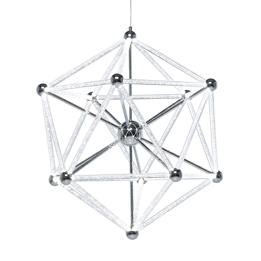 Hängeleuchte Atrium LED – Eisen verchromt/Acryl, Kare Design jetzt bestellen