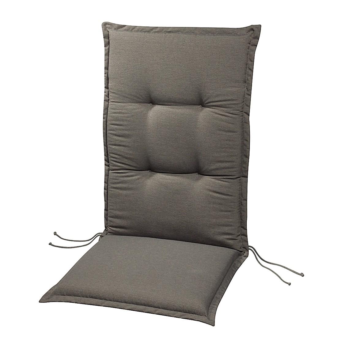 Polsterauflage Lorelai - Anthrazit - Deck-Chair - 144 x 50 cm, Best Freizeitmöbel
