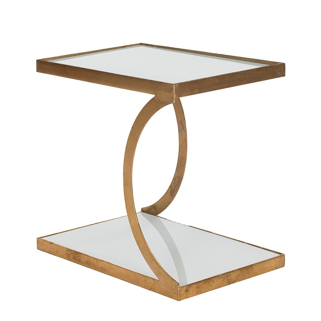 Table d 39 appoint sullivan dor safavieh le fait main - Table d appoint dore ...