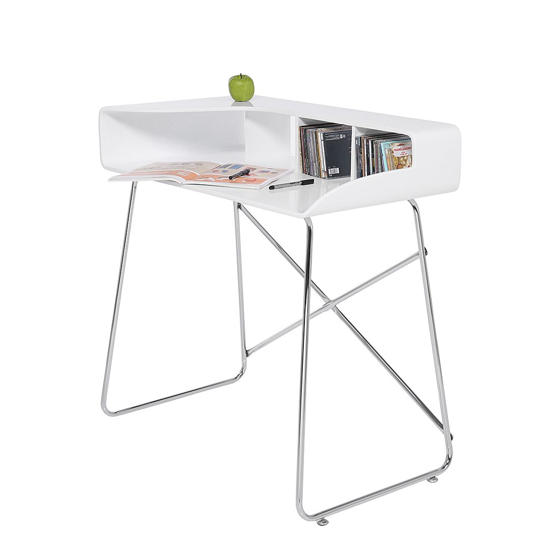 laptoptisch alexis wei home24 von home24. Black Bedroom Furniture Sets. Home Design Ideas