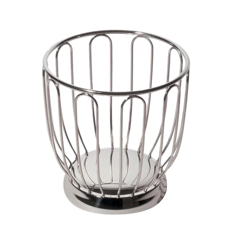 Obstkorb – Edelstahl – Durchmesser: 19 cm, Alessi online kaufen