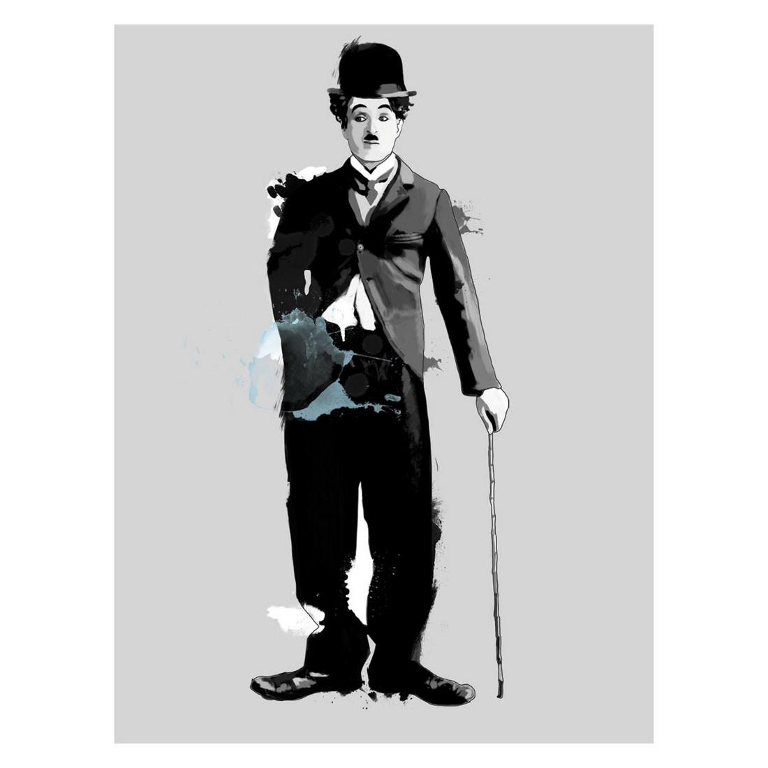 Ölgemälde Charlie Chaplin – Größe 100 x 70 cm, yourPainting kaufen
