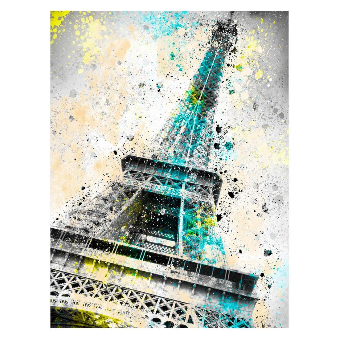 Ölgemälde City Art Paris Eiffeltower IV von Melanie Viola – Größe 60 x 40 cm, yourPainting jetzt bestellen