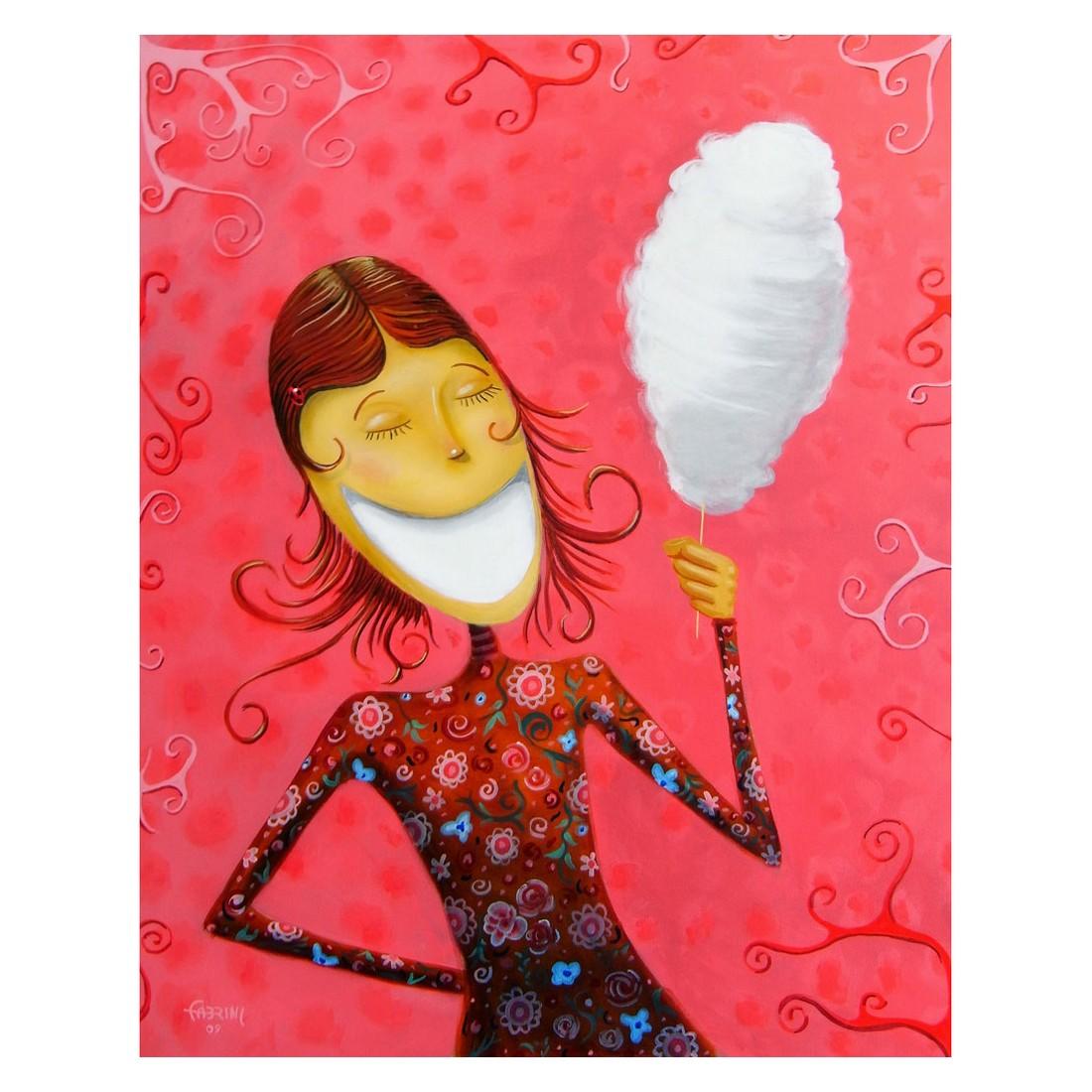 Ölgemälde Cotton Candy Girl von Fabrini Crisci – Größe 100 x 70 cm, yourPainting bestellen