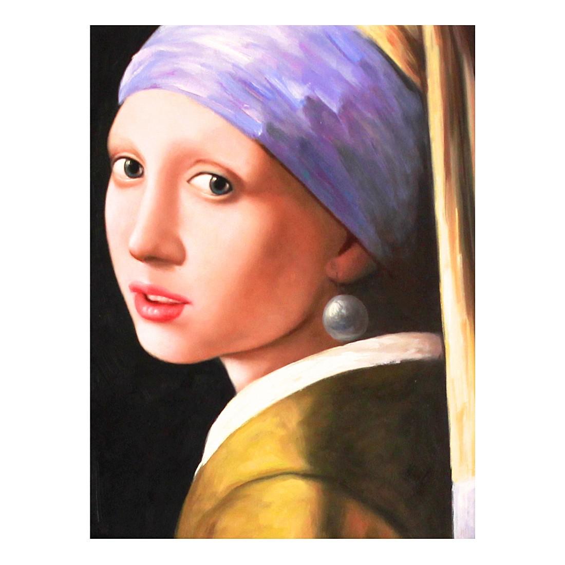 Ölgemälde Das Mädchen mit den Perlenohrringen von Jan Vermeer – Größe 40 x 30 cm, yourPainting online kaufen