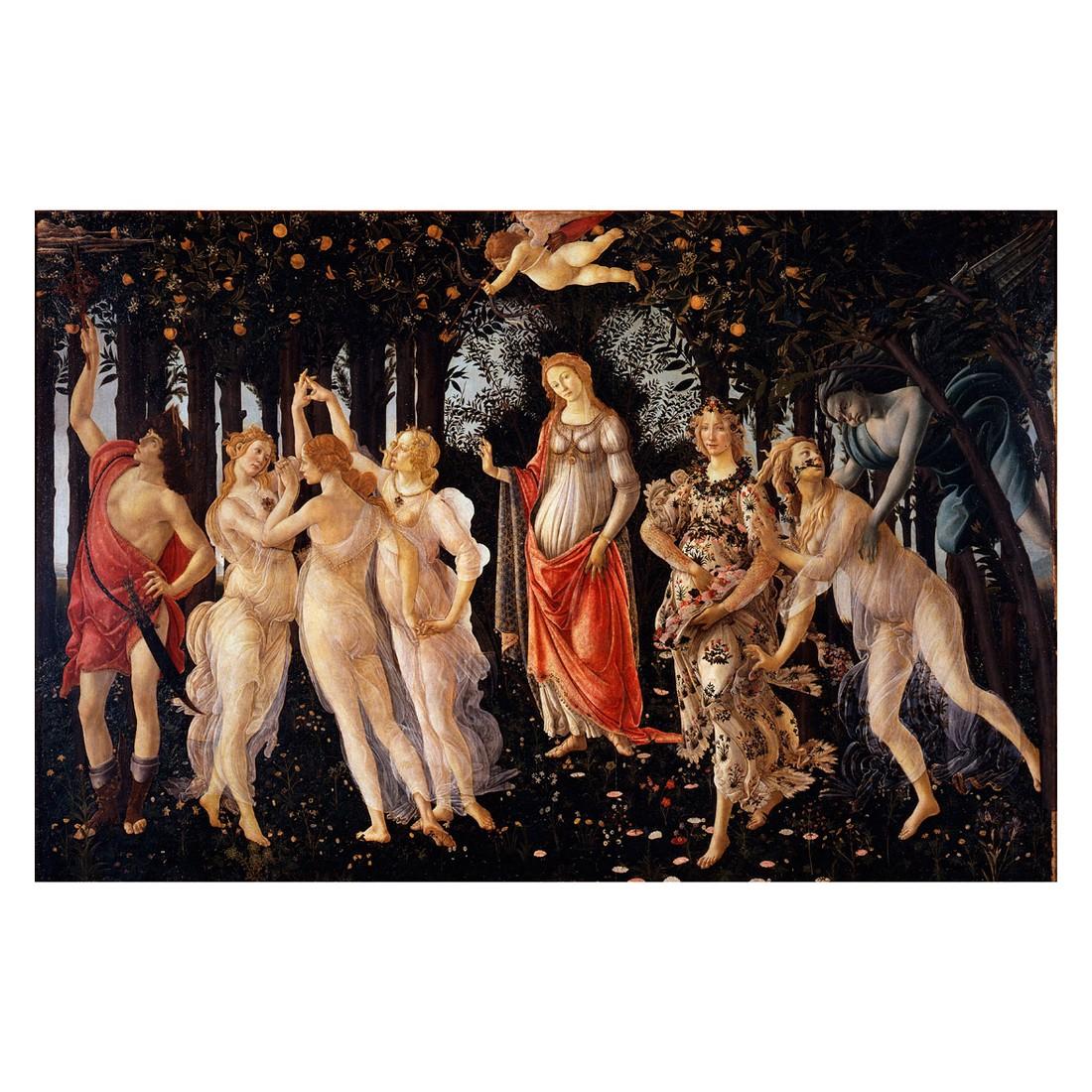 Ölgemälde Der Frühling von Sandro Botticelli – Größe 60 x 80 cm, yourPainting jetzt bestellen
