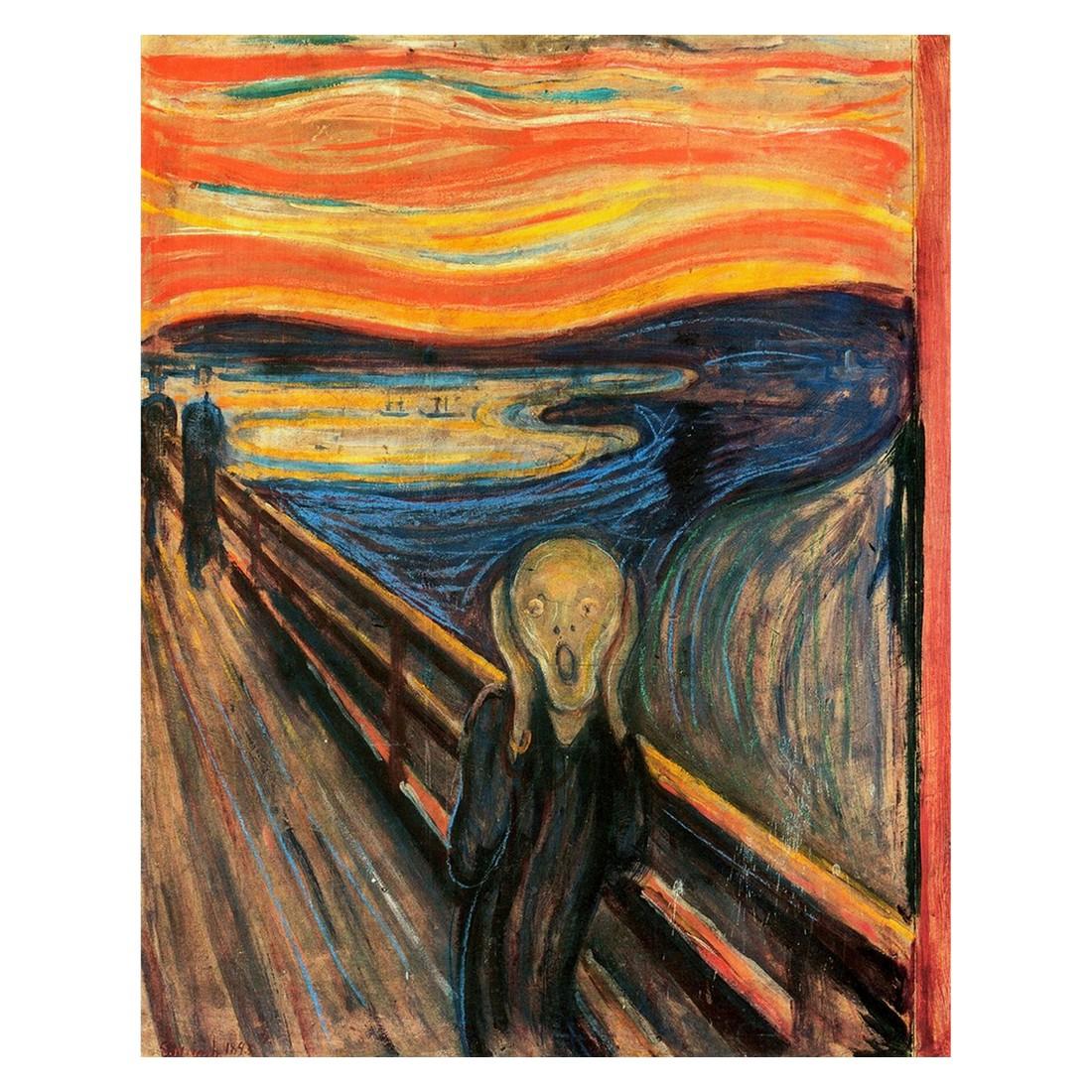 Ölgemälde Der Schrei von Edvard Munch – Größe 80 x 60 cm, yourPainting online kaufen