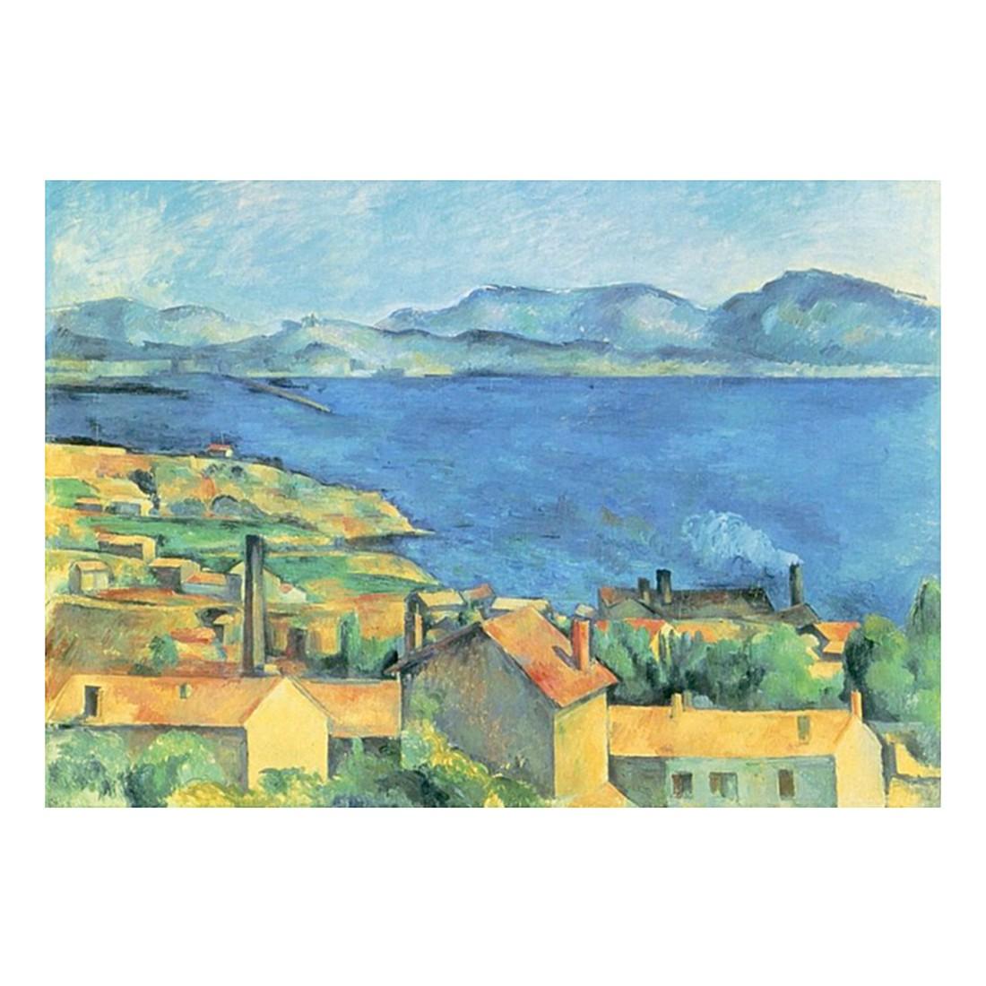 Ölgemälde Die Bucht von Marseille von Paul Cezanne – Größe 70 x 100 cm, yourPainting günstig online kaufen